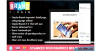 Woocommerce advanced brands plugin