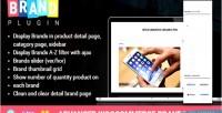 Woocommerce advanced brands plugin