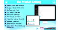 Woocommerce catalog mode with inquiry popup ajax