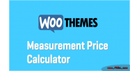 Woocommerce custom calculator price measure