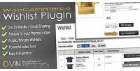 Woocommerce dvin plugin wp wishlist