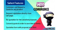 Woocommerce easy quote a request