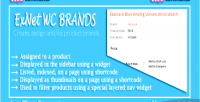 Woocommerce exnet brand plugin