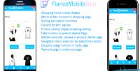 Woocommerce flancemobilewoo mobile theme