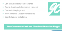 Woocommerce jc cart donations checkout and