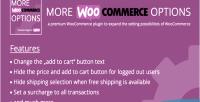 Woocommerce more options