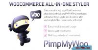 Woocommerce pimpmywoo styler plugin