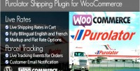 Woocommerce purolator shipping plugin