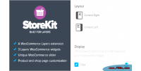 Woocommerce storekit for layers