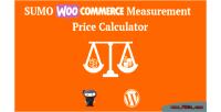 Woocommerce sumo calculator price measurement