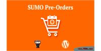Woocommerce sumo pre orders