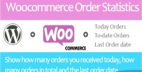 Woocommerce today orders & orders date to