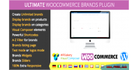 Woocommerce ultimate brands plugin