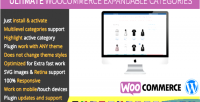 Woocommerce ultimate expandable categories