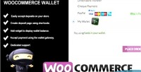 Woocommerce wallet payment deposit account