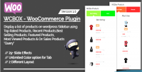 Woocommerce wcbox plugin