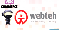 Woocommerce webteh payment gateway