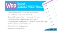 Woocommerce woobrands product brands