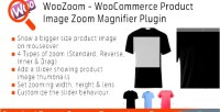 Woocommerce woozoom product magnifier zoom image