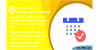 Woocommerce wordpress booking plugin reservation and
