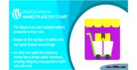 Woocommerce wordpress marketplace plugin cart split