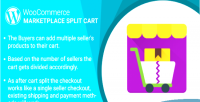 Woocommerce wordpress marketplace plugin cart split