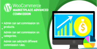 Woocommerce wordpress marketplace plugin commission advanced