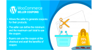 Woocommerce wordpress marketplace plugin coupons seller