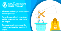 Woocommerce wordpress marketplace plugin coupons seller