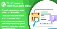 Woocommerce wordpress marketplace plugin system quote
