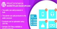 Woocommerce wordpress marketplace plugin upload mass