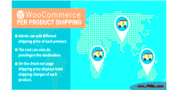 Woocommerce wordpress per plugin shipping product