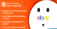 Woocommerce wordpress plugin connector ebay