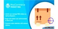 Woocommerce wordpress plugin rma product