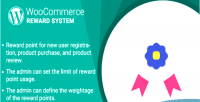 Woocommerce wordpress plugin system reward