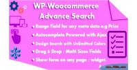 Woocommerce wp advance search