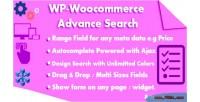 Woocommerce wp advance search