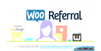 Woocoomerce wooreferral affiliates system