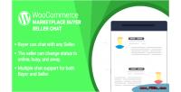 Wordpress woocommerce marketplace buyer plugin chat seller