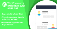 Wordpress woocommerce marketplace buyer plugin chat seller