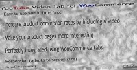 Youtube responsive video woocommerce for tab