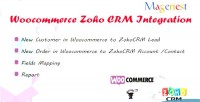 Zoho woocommerce crm intergration