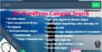 Wordpress zf category search
