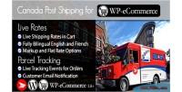 Canada post wp e plugin shipping commerce