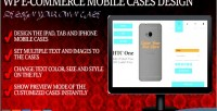 Case mobile design ecommerce wp for