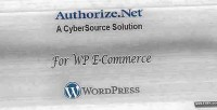 E wp commerce authorize.net