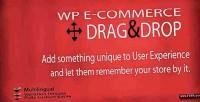 Wp e commerce drag cart shopping drop