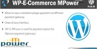 E wp commerce gateway payment mpower
