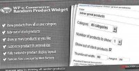 E wp commerce widget product random