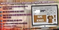 Wp ecommerce custom t studio design shirt